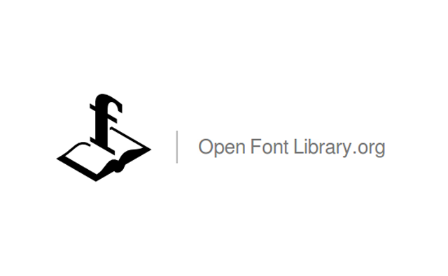 Open Font Library logo